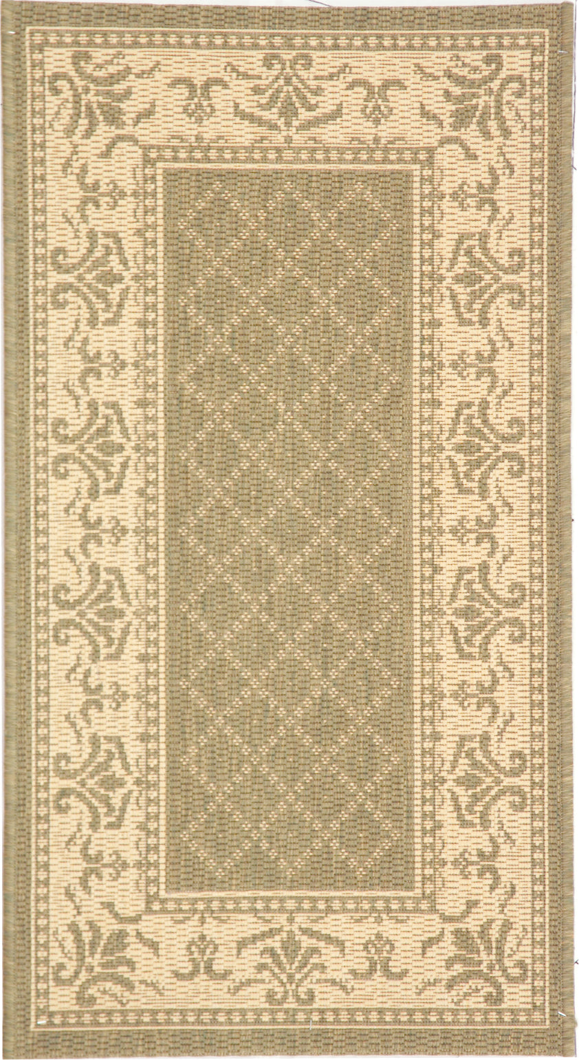 Safavieh Courtyard CY0901 Olive/Natural Area Rug main image