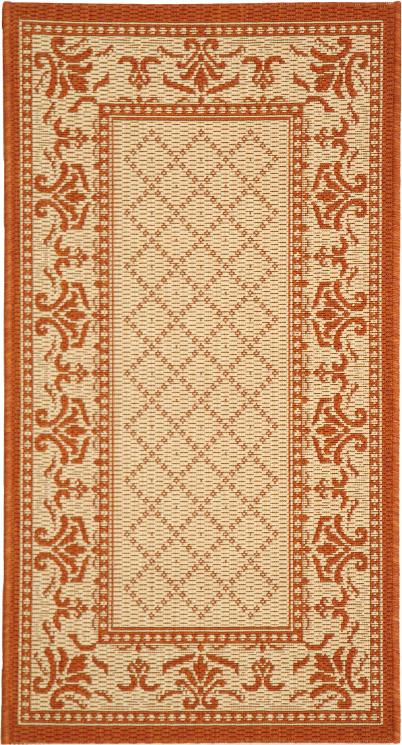 Safavieh Courtyard CY0901 Natural/Terra Area Rug main image