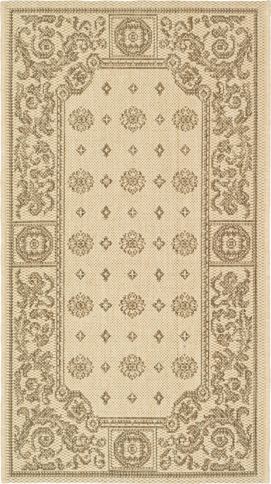 Safavieh Courtyard CY1356 Natural/Brown Area Rug main image