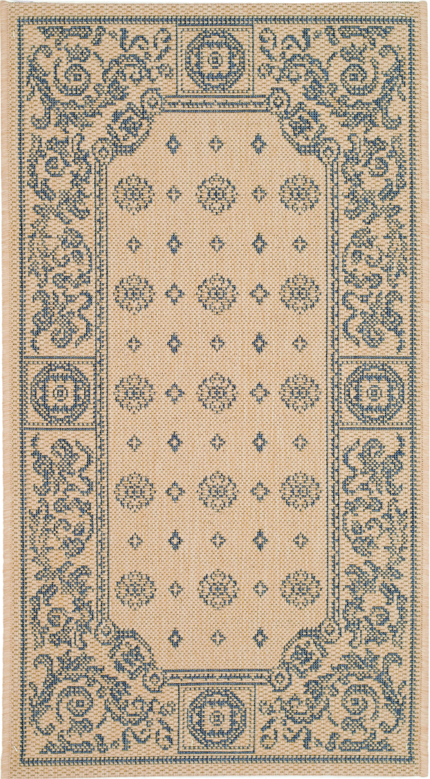 Safavieh Courtyard CY1356 Natural/Blue Area Rug main image