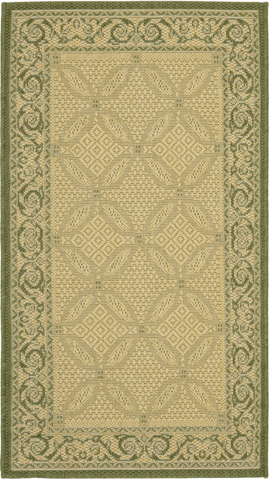 Safavieh Courtyard CY1502 Natural/Olive Area Rug main image