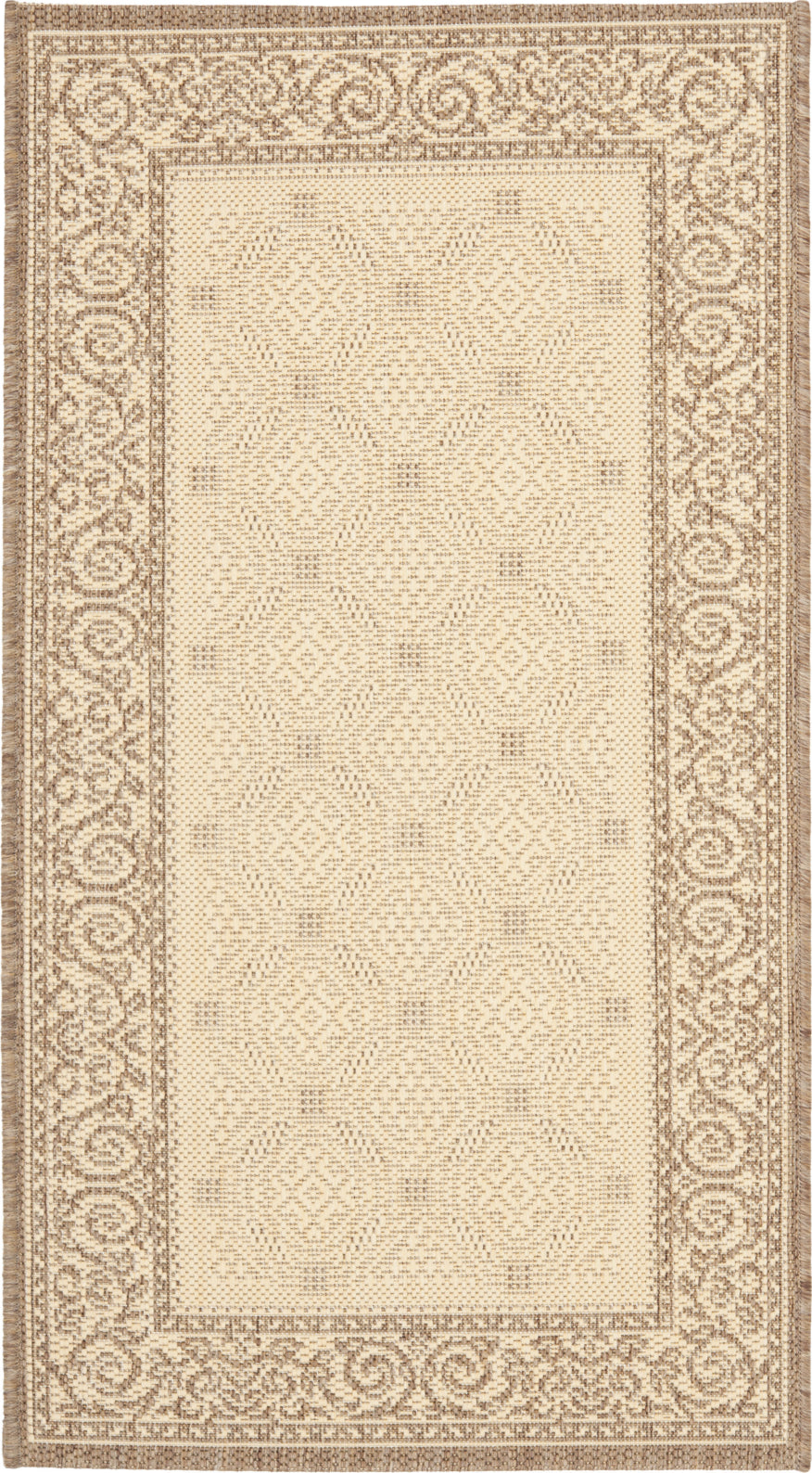 Safavieh Courtyard CY1502 Natural/Brown Area Rug main image