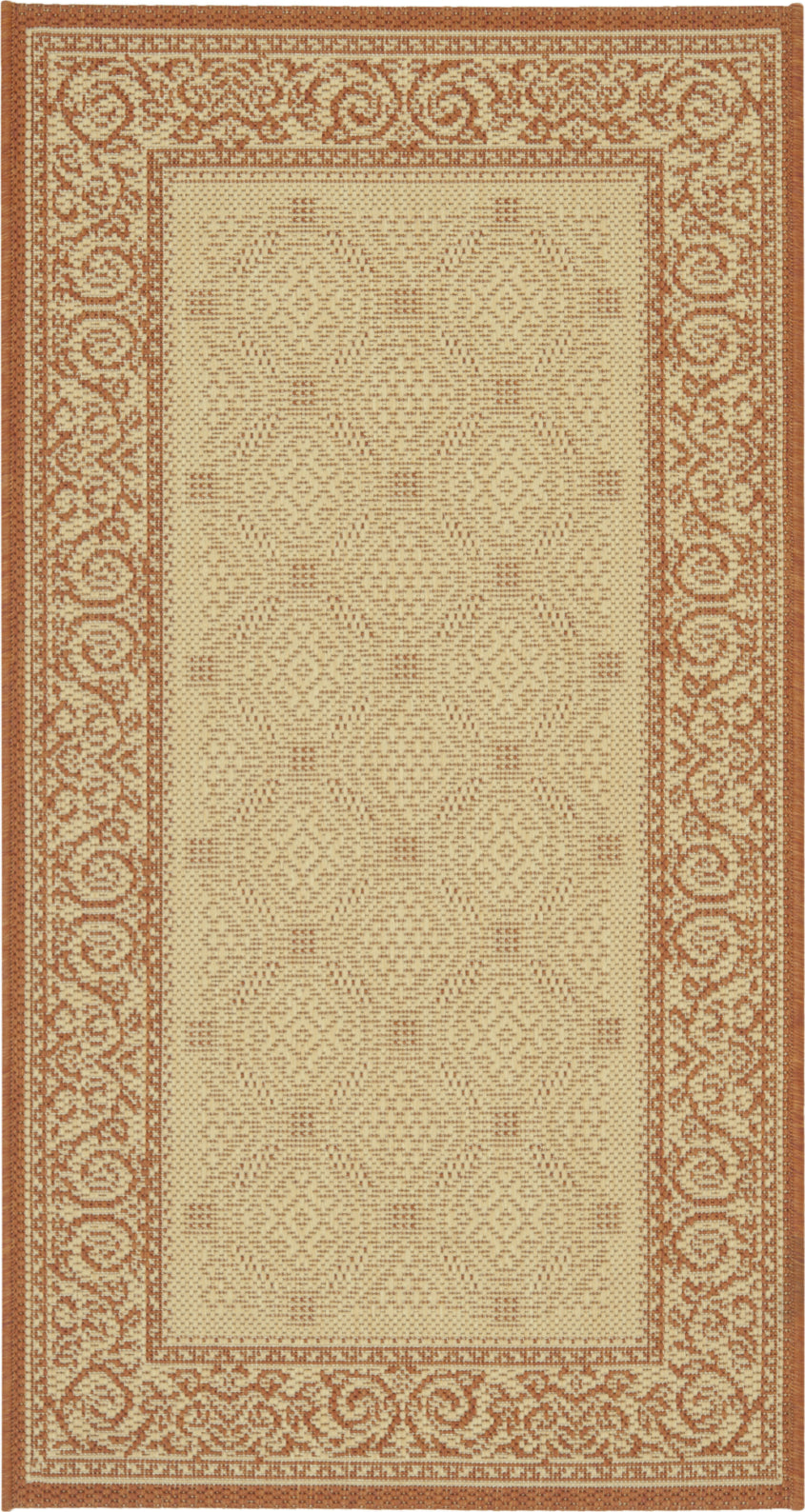 Safavieh Courtyard CY1502 Natural/Terra Area Rug main image