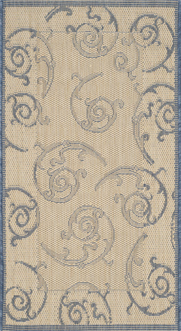 Safavieh Courtyard CY2665 Natural/Blue Area Rug main image