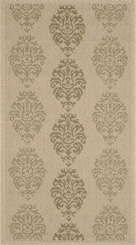 Safavieh Courtyard CY2720 Natural/Olive Area Rug main image