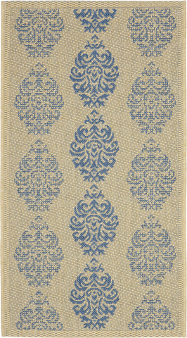 Safavieh Courtyard CY2720 Natural/Blue Area Rug main image