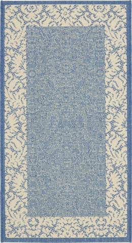 Safavieh Courtyard CY2727 Blue/Natural Area Rug main image