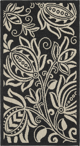 Safavieh Courtyard CY2961 Black/Sand Area Rug main image