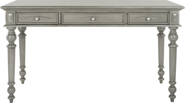 Safavieh Ronin 3 Drawer Desk Grey Wash Furniture Incredible Rugs