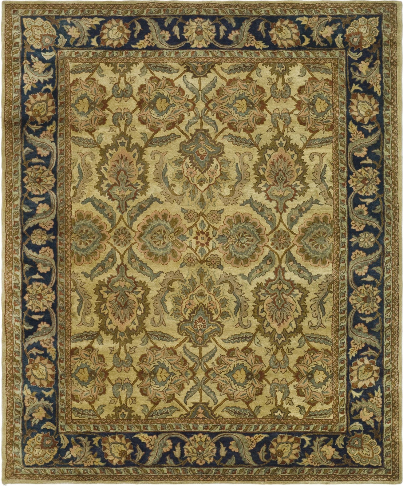 Safavieh Heritage 172 Beige Blue Area Rug Incredible Rugs And Decor