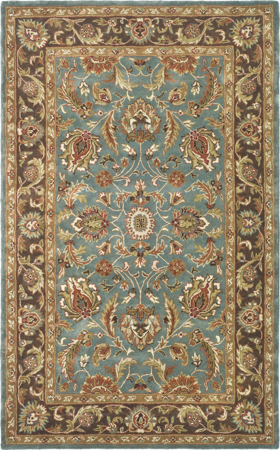 Safavieh Heritage 812 Blue/Brown Area Rug main image