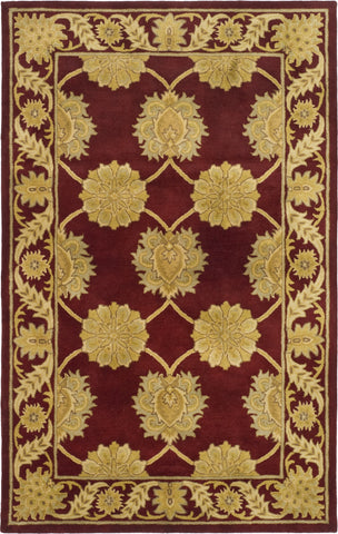 Safavieh Heritage 961 Red/Red Area Rug main image