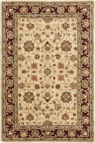 Safavieh Heritage 965 Ivory/Red Area Rug main image