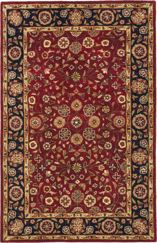 Safavieh Heritage 966 Red/Navy Area Rug main image