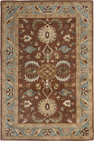 Safavieh Heritage 968 Brown/Blue Area Rug main image