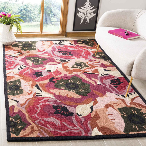 Safavieh Martha Stewart Poppy Red Area Rug Incredible Rugs And Decor