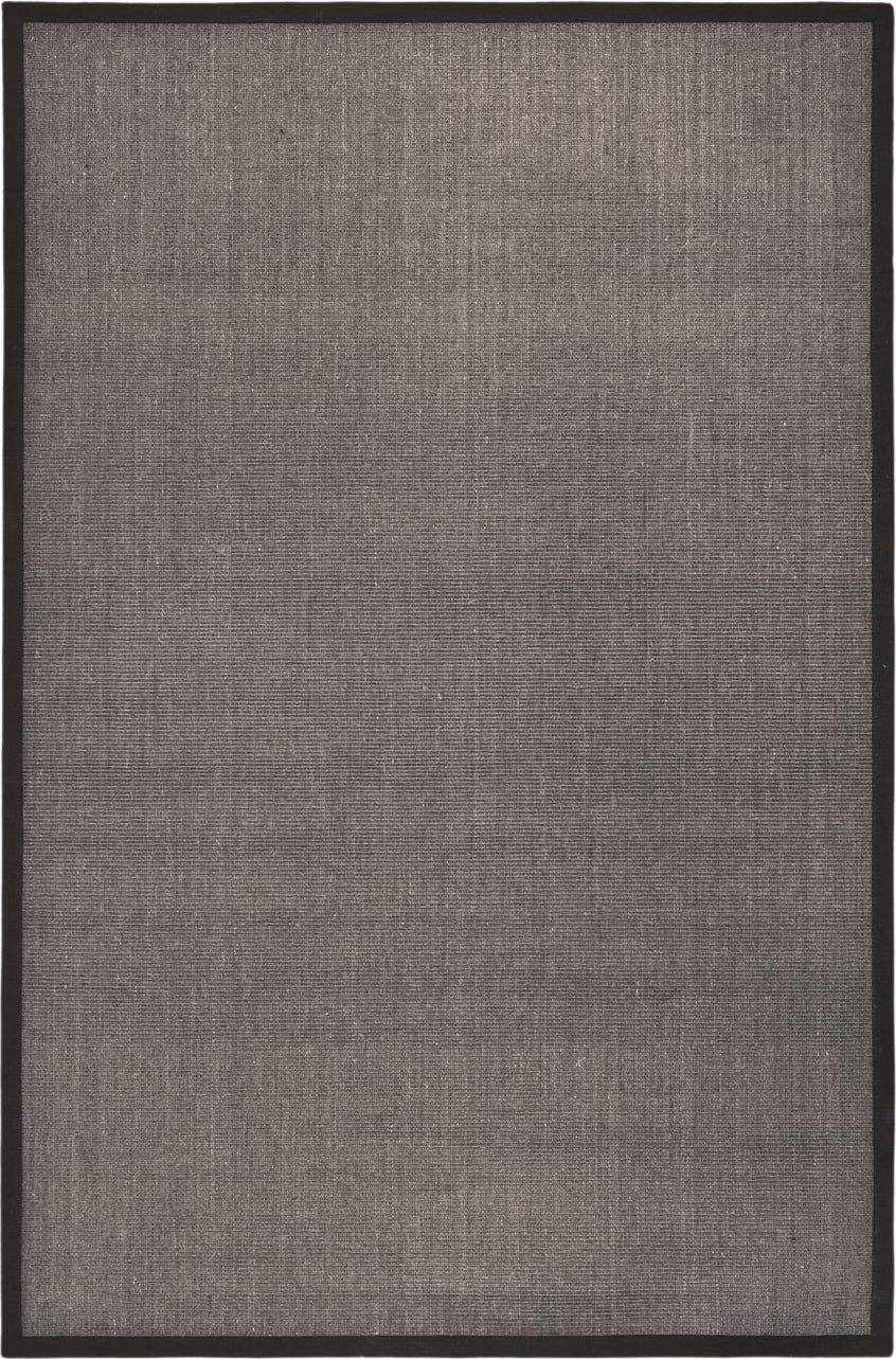Safavieh Natural Fiber NF441D Charcoal/Charcoal Area Rug main image