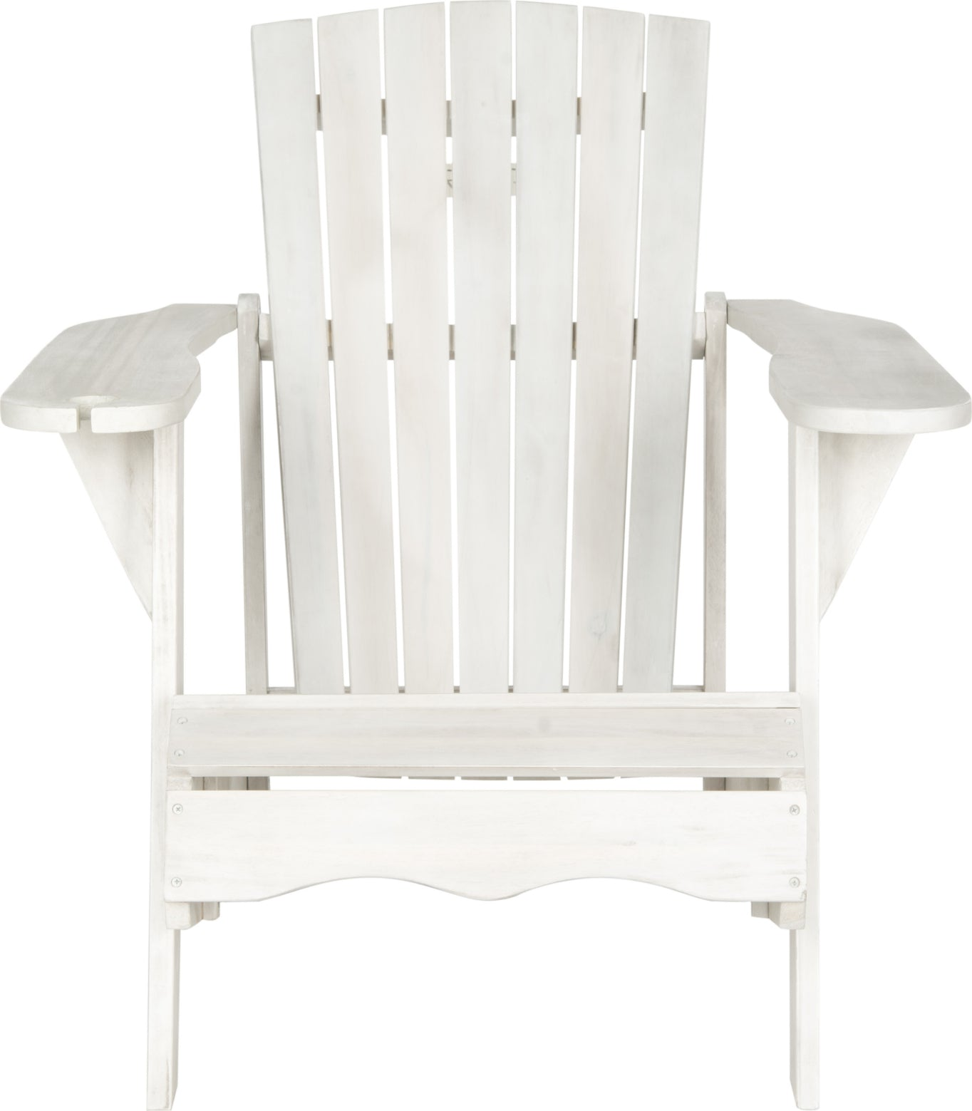 Safavieh Vista Wine Glass Holder Adirondack Chair Antique White Furniture main image