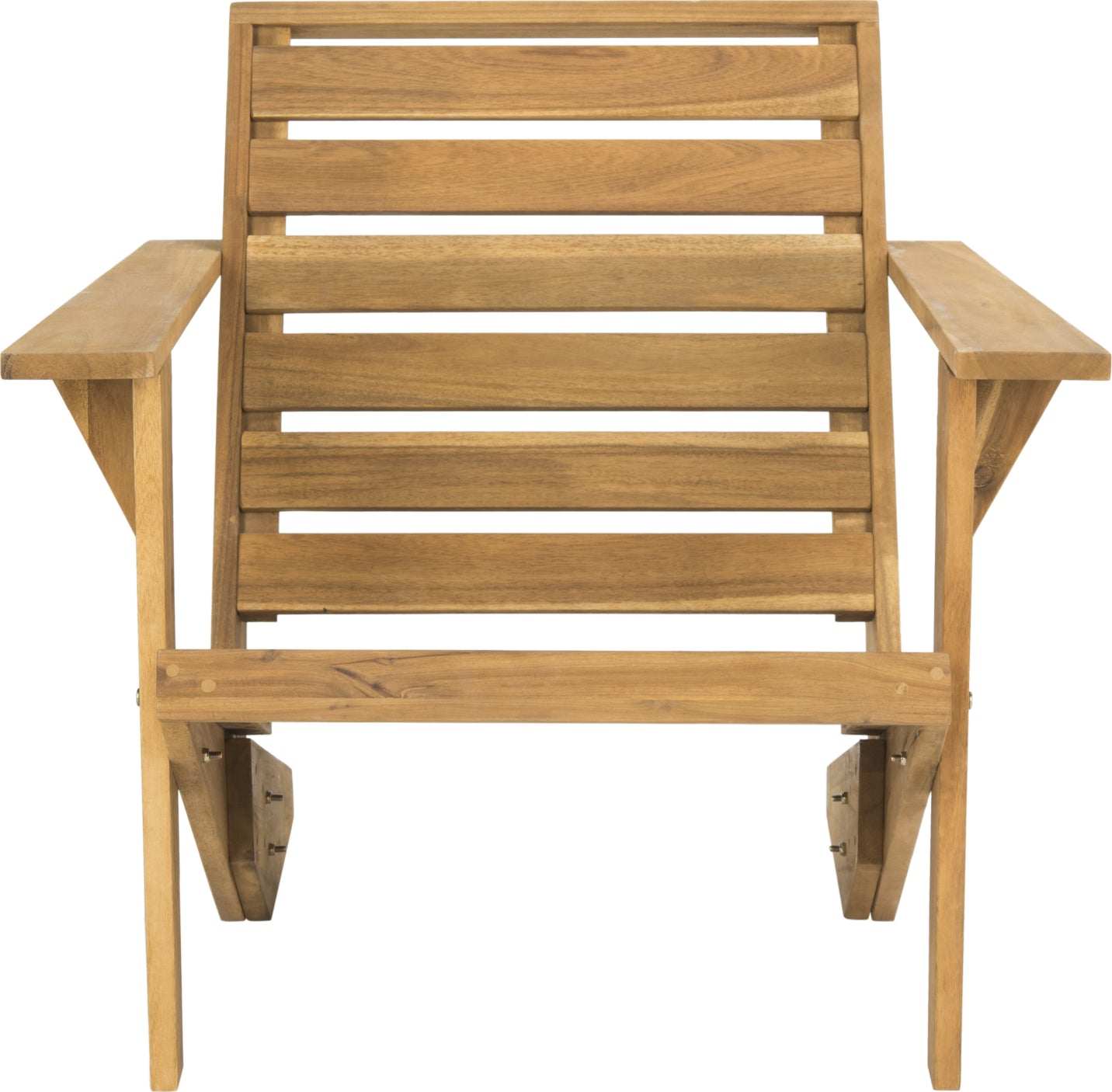 Safavieh Lanty Adirondack Chair Teak Furniture main image