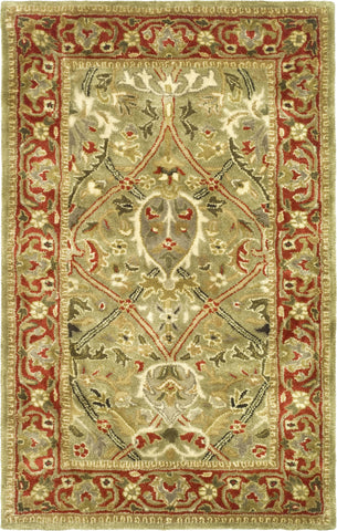 Safavieh Persian Legend Pl819 Light Green/Rust Area Rug main image