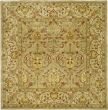 Safavieh Persian Legend Pl819 Moss/Beige Area Rug Square