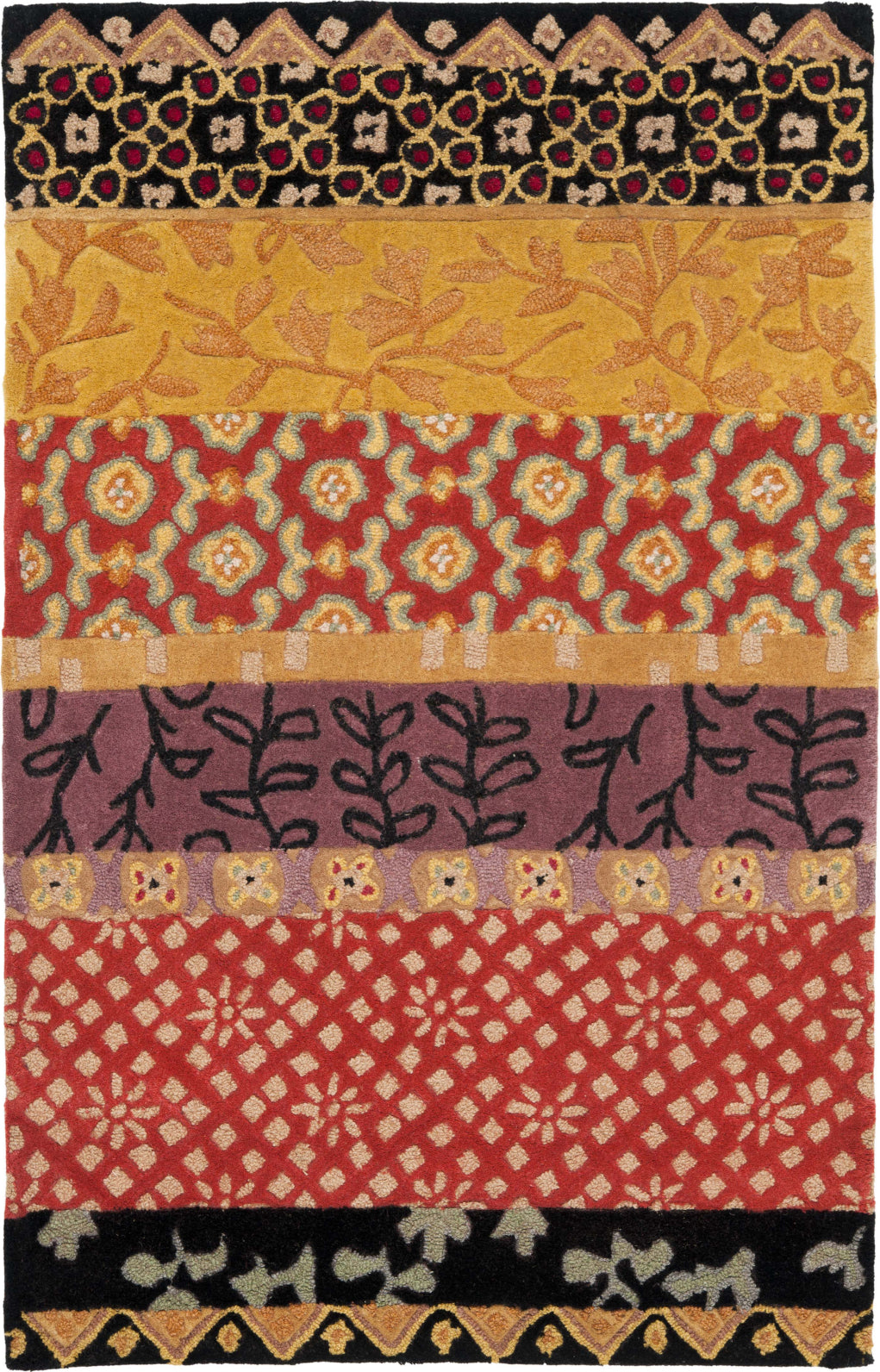Safavieh Rodeo Drive Rd622 Rust/Gold Area Rug main image
