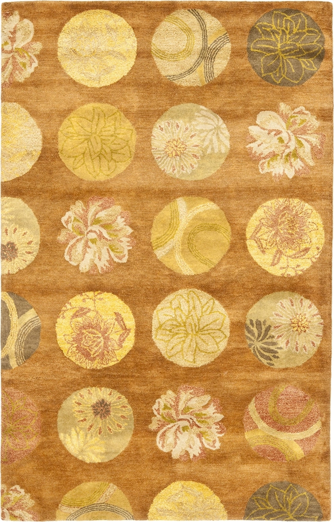 Safavieh Rodeo Drive Rd954 Light Brown/Multi Area Rug main image