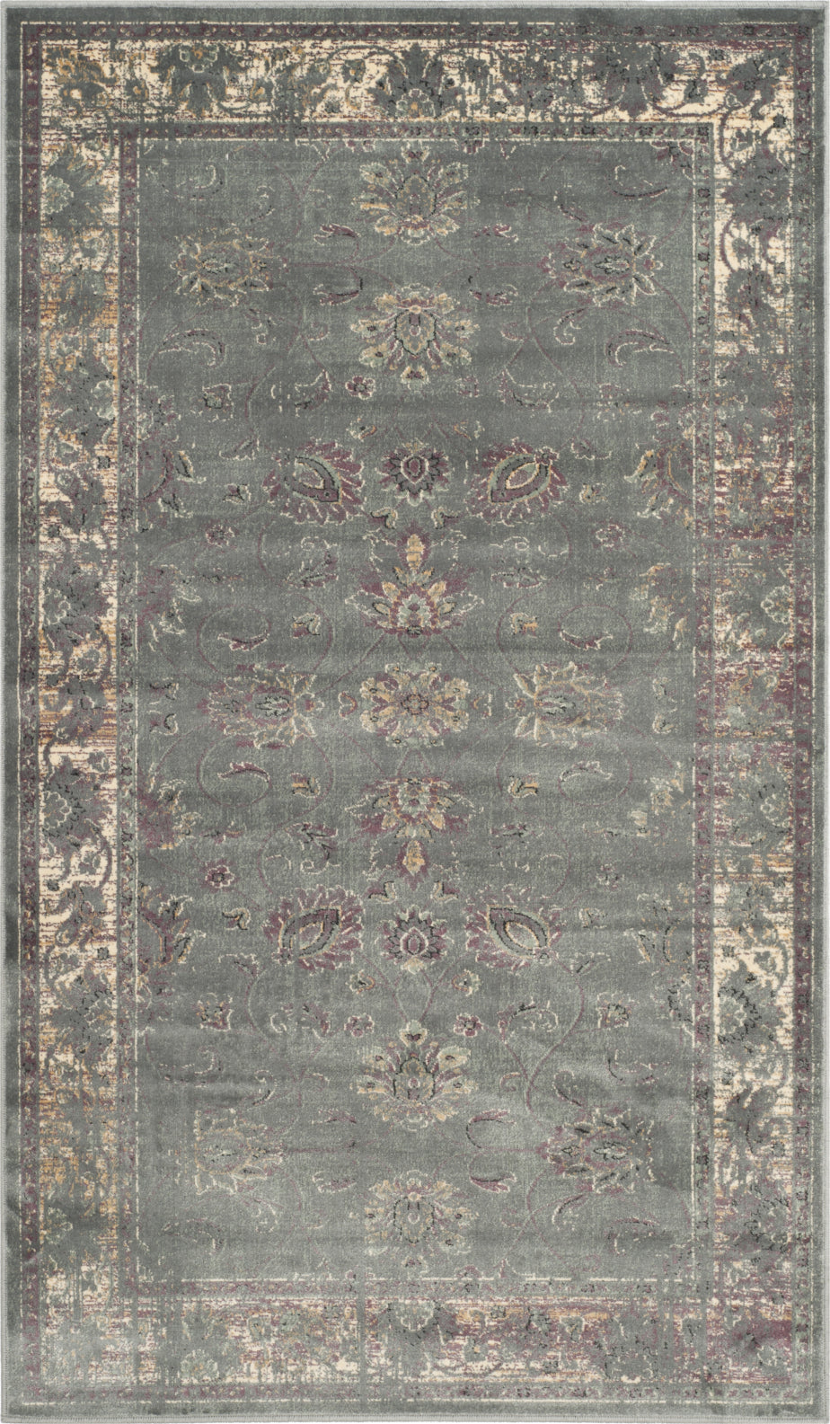 Safavieh Vintage VTG117 Grey/Multi Area Rug main image