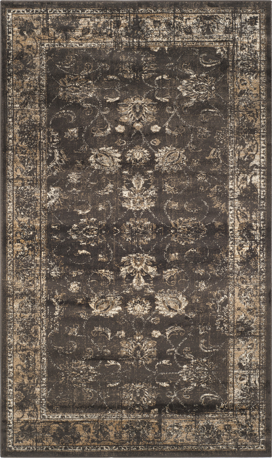 Safavieh Vintage VTG117 Soft Anthracite Area Rug main image