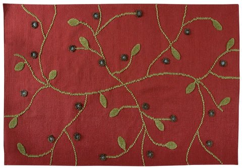 MAT Kea Santa Fe Red Area Rug main image