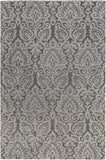 Scott SCT-1001 Gray Area Rug by Surya