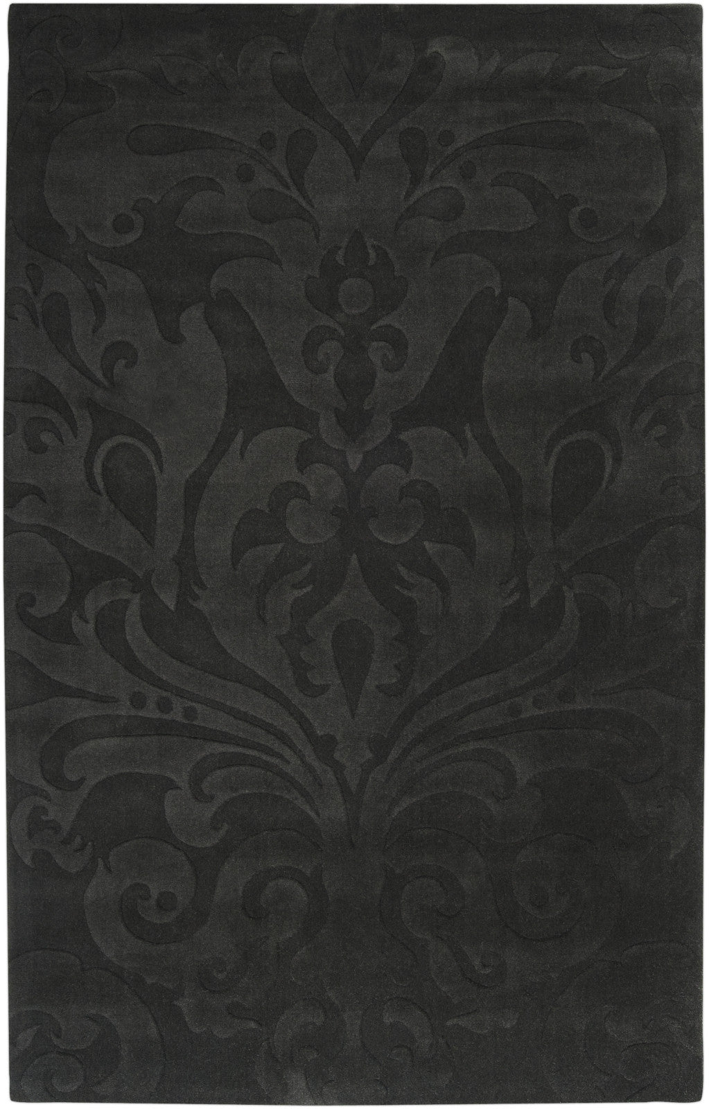 Surya Sculpture SCU-7510 Gray Area Rug by Candice Olson main image