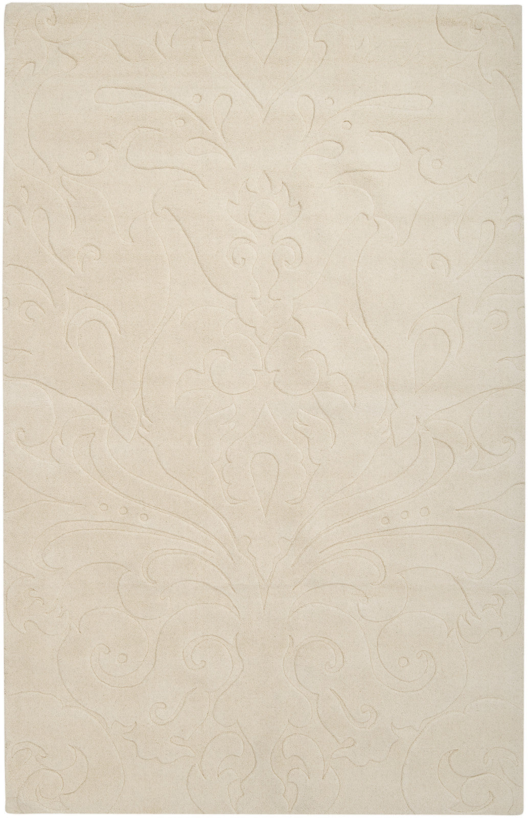 Surya Sculpture SCU-7511 Beige Area Rug by Candice Olson main image