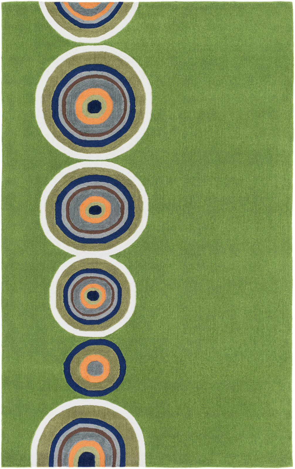 Surya Skidaddle SDD-4003 Green Area Rug main image