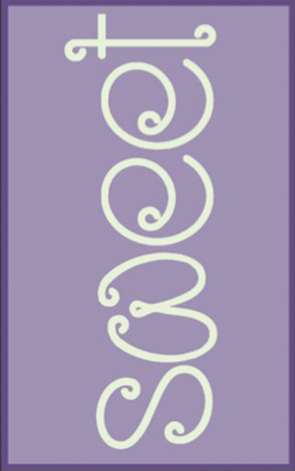Surya Skidaddle SDD-4021 Purple Area Rug main image
