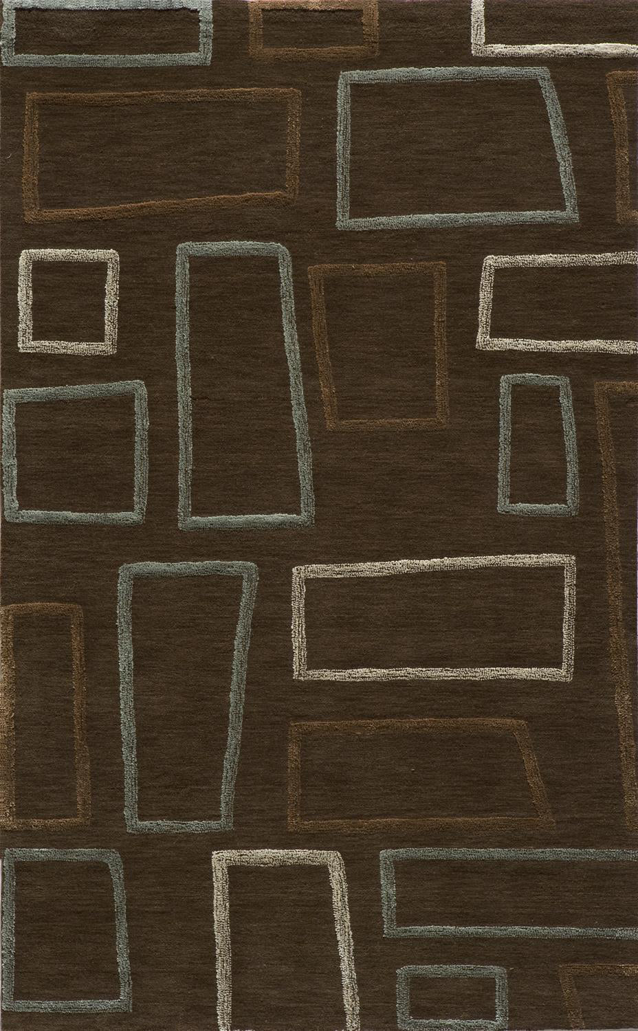 Momeni Sensations SEN-1 Brown Area Rug main image