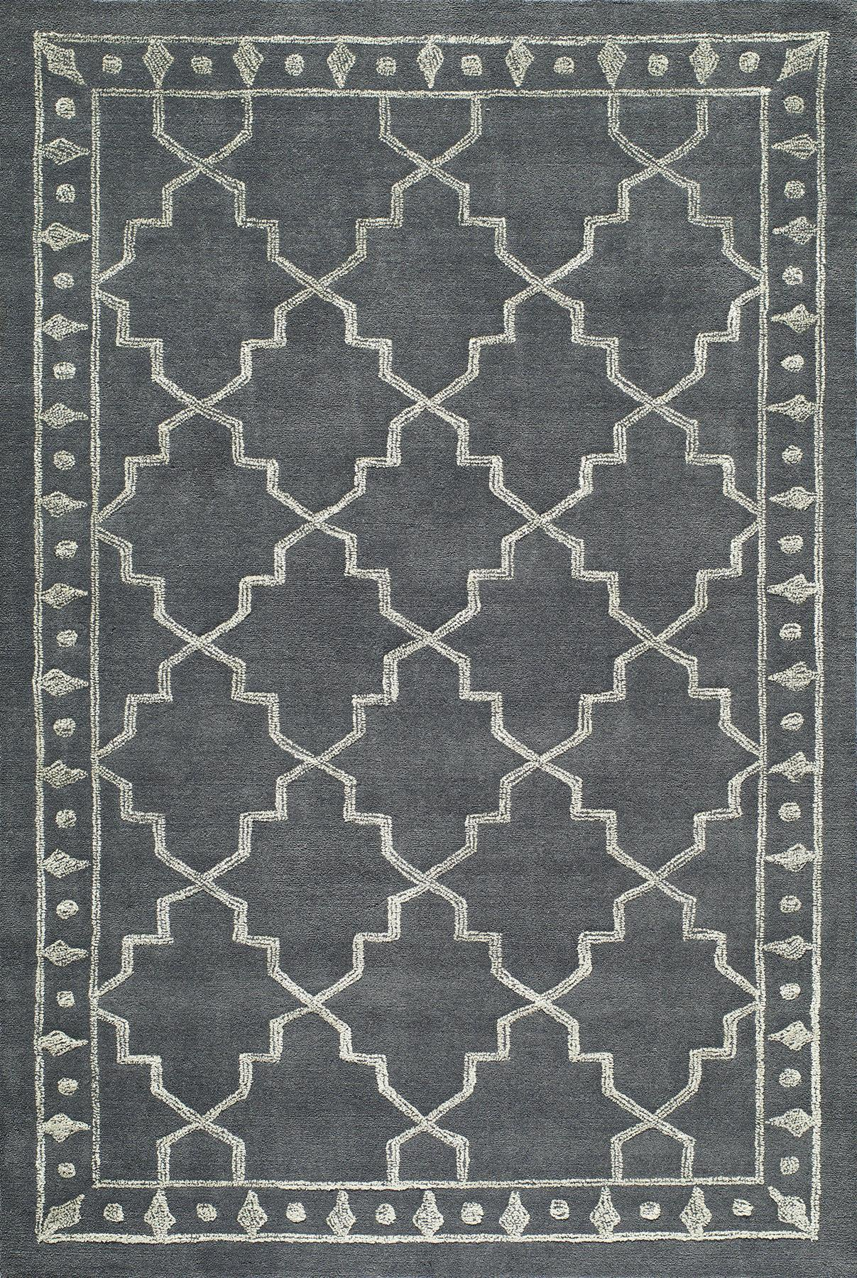 Momeni Sensations SEN10 Charcoal Area Rug main image