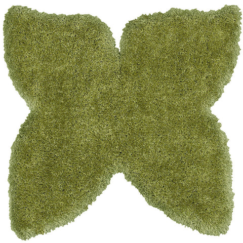 LR Resources Senses 80962 Green Area Rug