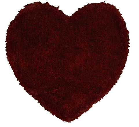 LR Resources Senses 80963 Red Area Rug