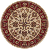 LR Resources Shapes 10561 Ivory/Red Area Rug