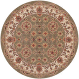 LR Resources Shapes 10564 Green/Ivory Area Rug