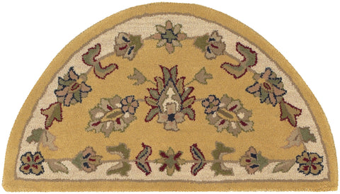 LR Resources Shapes 10580 Gold/Ivory Area Rug
