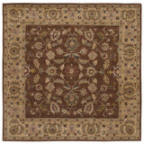 LR Resources Shapes 5R104 Brown/Gold Area Rug