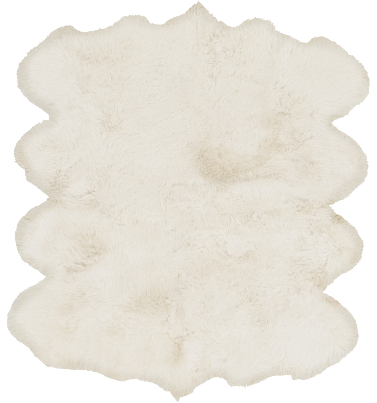 Surya Sheepskin SHS-9600 White Area Rug main image