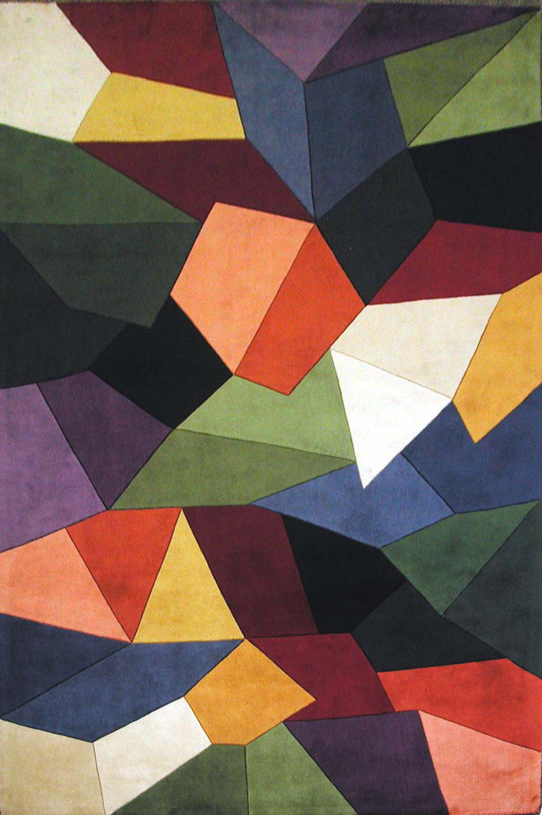 KAS Signature 9086 Multi Prisms Hand Tufted Area Rug