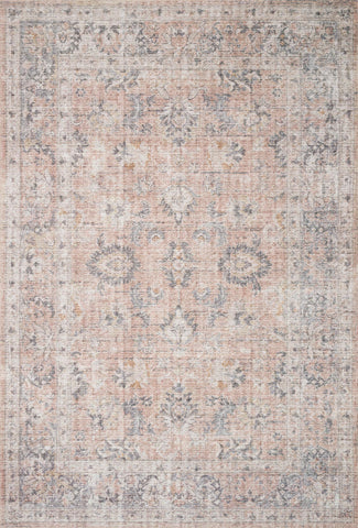 Loloi II Skye SKY-01 Blush/Grey Area Rug main image