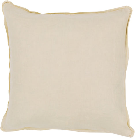 Surya Solid Luxury in Linen SL-005 Pillow main image