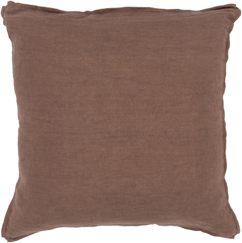 Surya Solid Luxury in Linen SL-008 Pillow main image