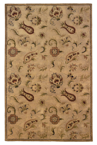 Linon Ashton RUG-SLSG41 Pale Gold Area Rug main image