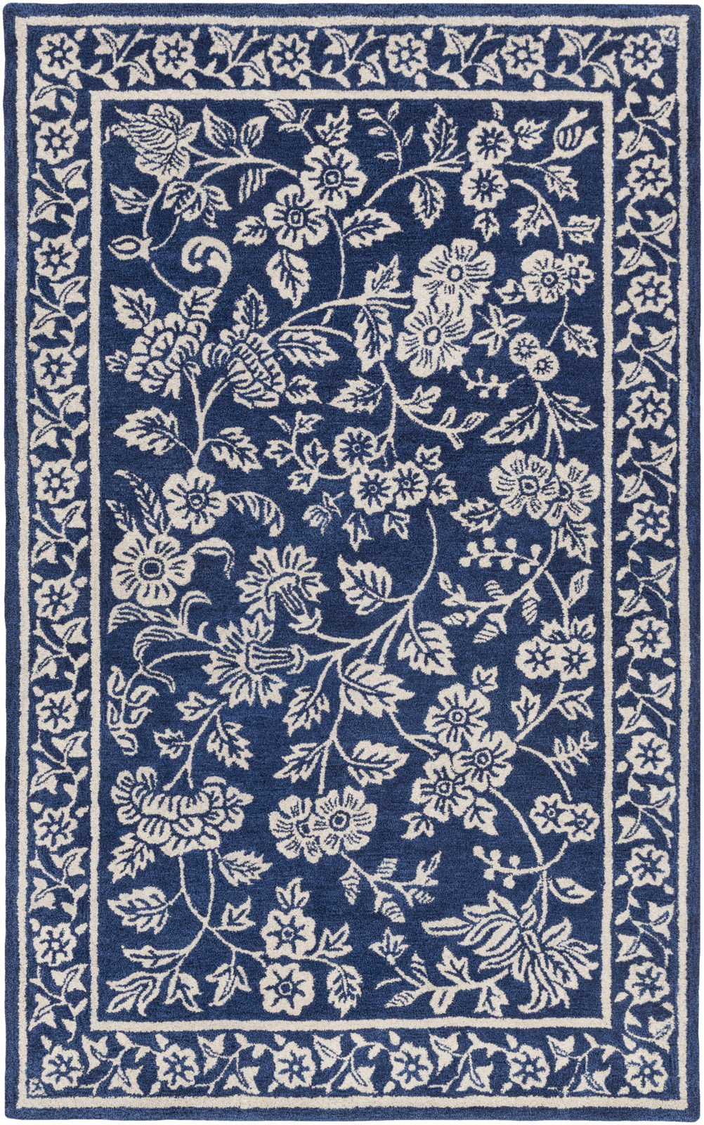 Surya SMI-2161 Blue Area Rug by Smithsonian